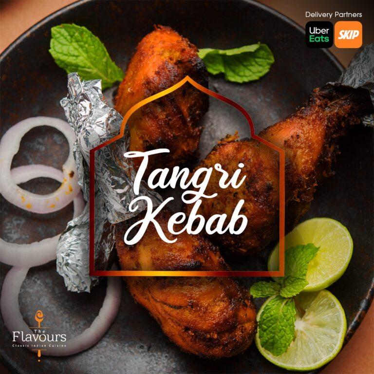Stuffed Tangri Kebab