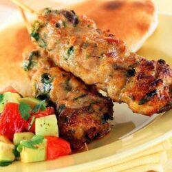 Chicken Seekh Kebab