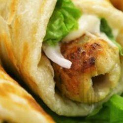 Chicken Seekh Wrap